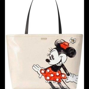 Kate Spade Disney Minnie Mouse Francis Tote